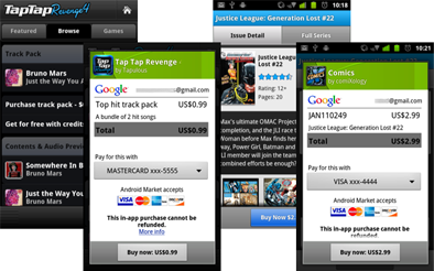 Google Android In-App Billing